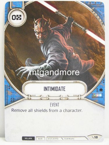Star Wars Destiny - #018 Intimidate - Force Friday Starter
