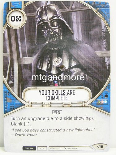Star Wars Destiny - #019 Your Skills Are Complete - Force Friday Starter