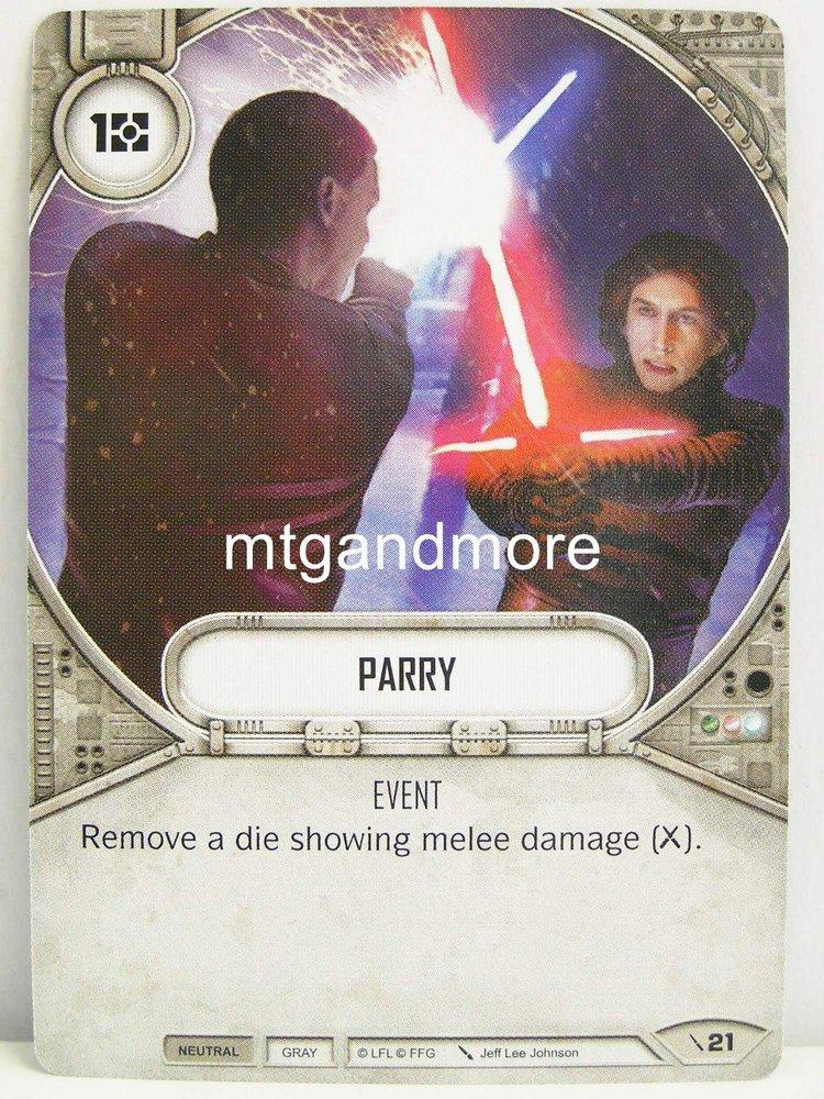 Star Wars Destiny - #021 Parry - Force Friday Starter