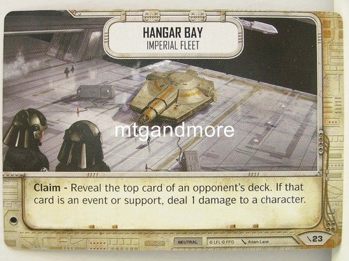 Star Wars Destiny - #023 Hangar Bay - Force Friday Starter