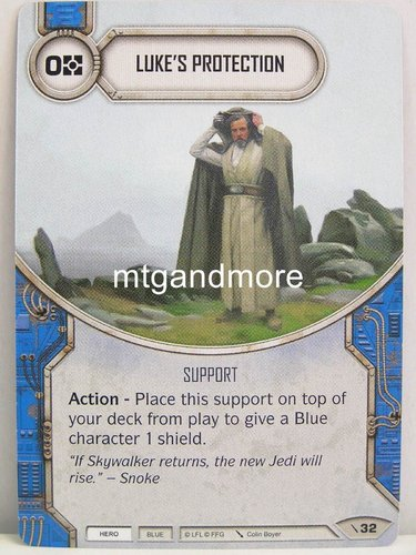 Star Wars Destiny - #032 Luke's Protection - Force Friday Starter