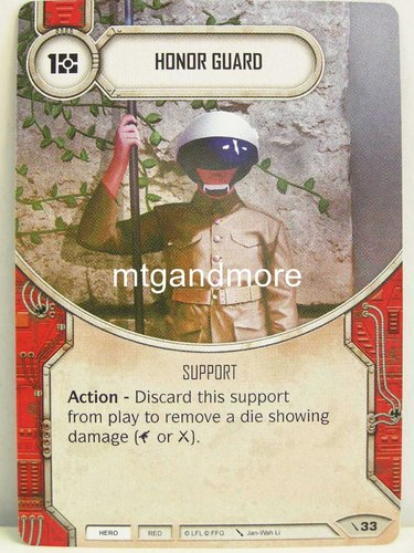 Star Wars Destiny - #033 Honor Guard - Force Friday Starter