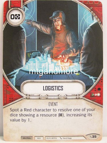 Star Wars Destiny - #035 Logistics - Force Friday Starter