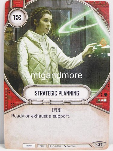 Star Wars Destiny - #037 Strategic Planning - Force Friday Starter