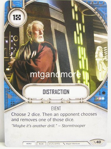 Star Wars Destiny - #040 Distraction - Force Friday Starter
