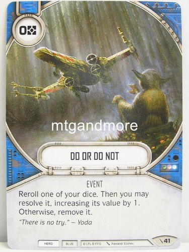 Star Wars Destiny - #041 Do Or Do Not - Force Friday Starter