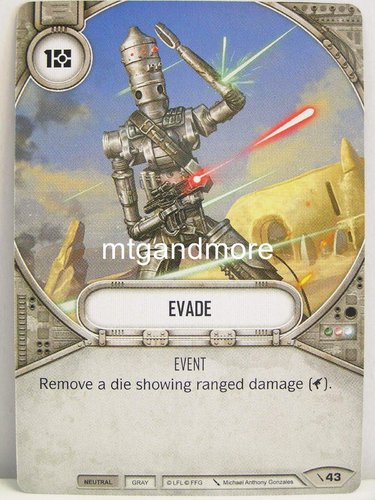 Star Wars Destiny - #043 Evade - Force Friday Starter