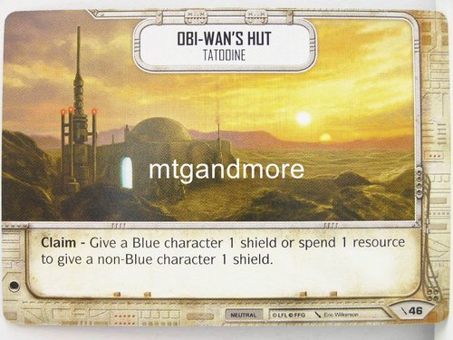 Star Wars Destiny - #046 Obi Wan's Hut - Force Friday Starter