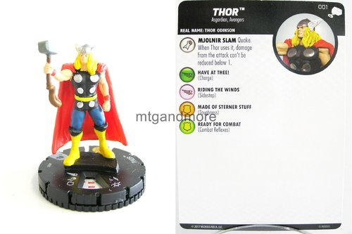 Heroclix - #001 Thor - The Mighty Thor