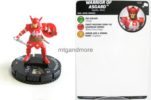Heroclix - #008 Warrior of Asgard - The Mighty Thor