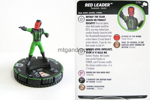 Heroclix - #013b Red Leader - The Mighty Thor