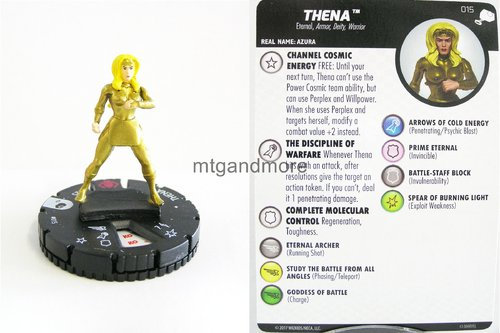 Heroclix - #015 Thena - The Mighty Thor