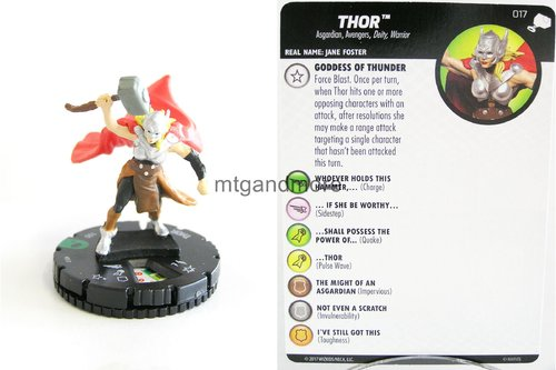 Heroclix - #017 Thor - The Mighty Thor