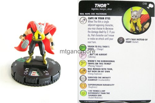 Heroclix - #018 Thor - The Mighty Thor