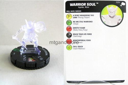 Heroclix - #024 Warrior Soul - The Mighty Thor