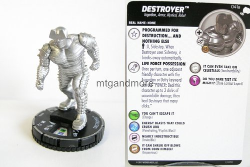 Heroclix - #041a Destroyer - The Mighty Thor