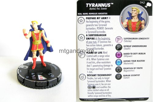 Heroclix - #042 Tyrannus - The Mighty Thor