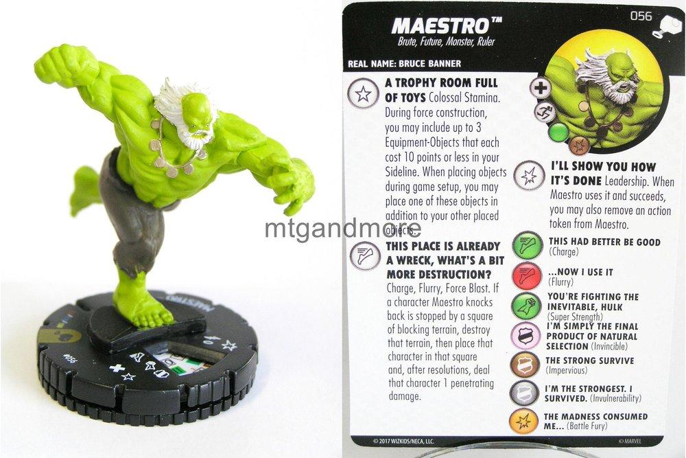 MAESTRO #056 The Mighty Thor Marvel Heroclix Super Rare
