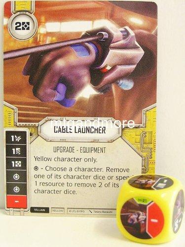 Star Wars Destiny #044 Tough Haggler yellow Dice Empire at War