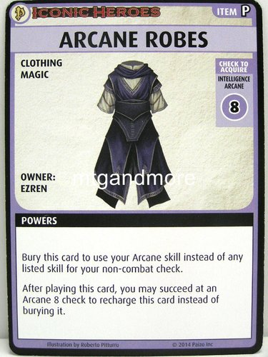 Pathfinder Battles – Arcane Robes - Iconic Heroes