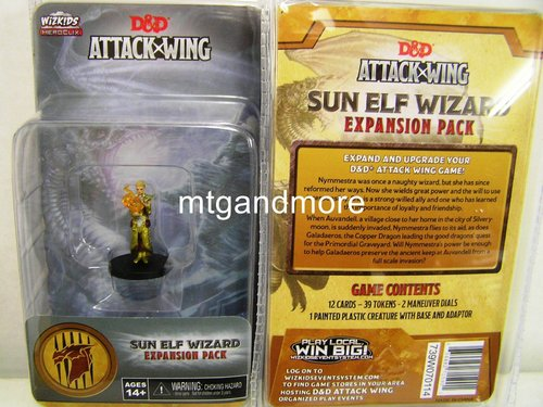 D&D – Attack Wing - Sun Elf Wizard