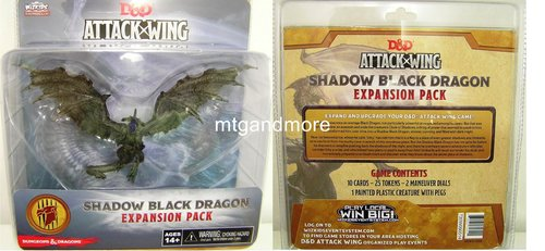 D&D – Attack Wing - Shadow Black Dragon