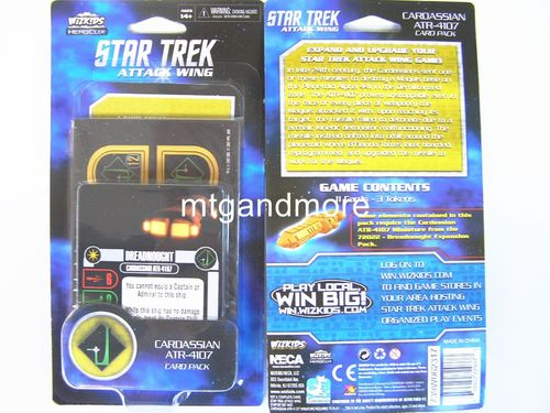 Star Trek Attack Wing - Cardassian ATR-4107 Card Pack