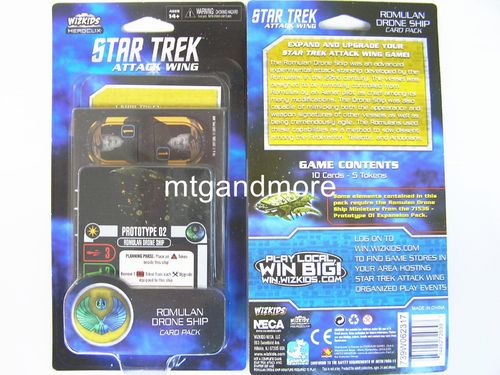 Star Trek Attack Wing - Romulan Drone Ship Card Pack