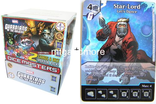 Dice Masters - Guardians of the Galaxy Gravity Feed Display + Promo-Karte
