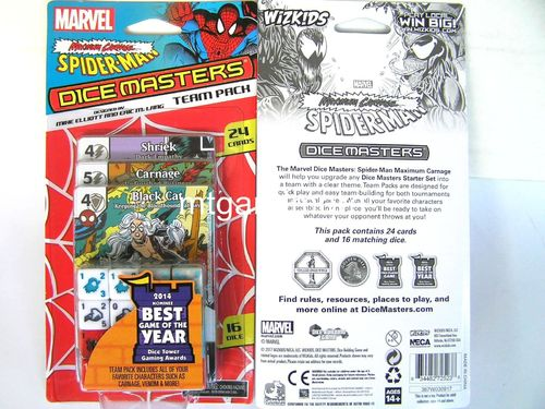 Dice Masters - Spider-Man Maximum Carnage Team Pack