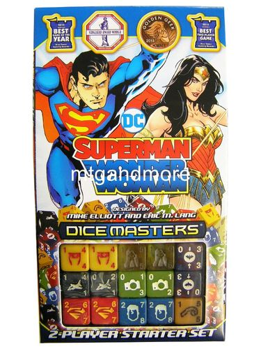 Dice Masters Superman / Wonder Woman Starter Set