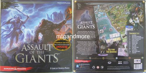 Dungeons&Dragons Assault of the Giants Premium Edition Board Game
