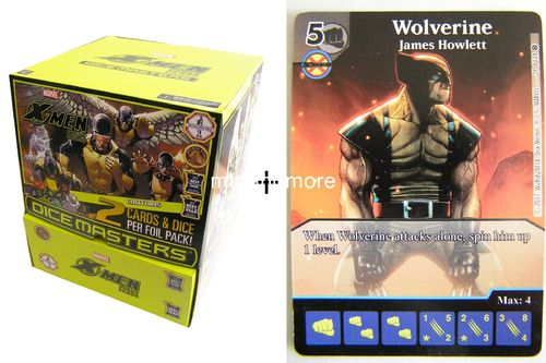 Dice Masters X-Men First Class Gravity Feed Display + Promo-Karte