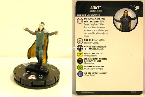 Heroclix - #002 Loki - Thor Ragnarok Movie Set
