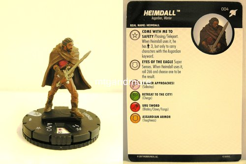 Heroclix - #004 Heimdall - Thor Ragnarok Movie Set