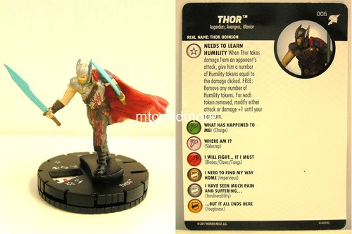 Heroclix - #006 Thor - Thor Ragnarok Movie Set
