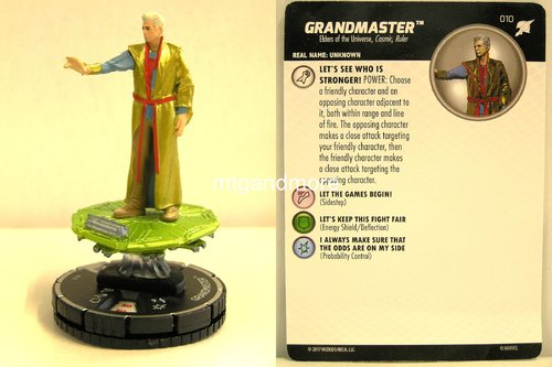 Heroclix - #010 Grandmaster - Thor Ragnarok Movie Set