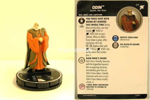 Heroclix - #011 Odin - Thor Ragnarok Movie Set