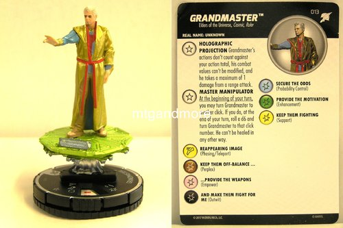 Heroclix - #013 Grandmaster - Thor Ragnarok Movie Set