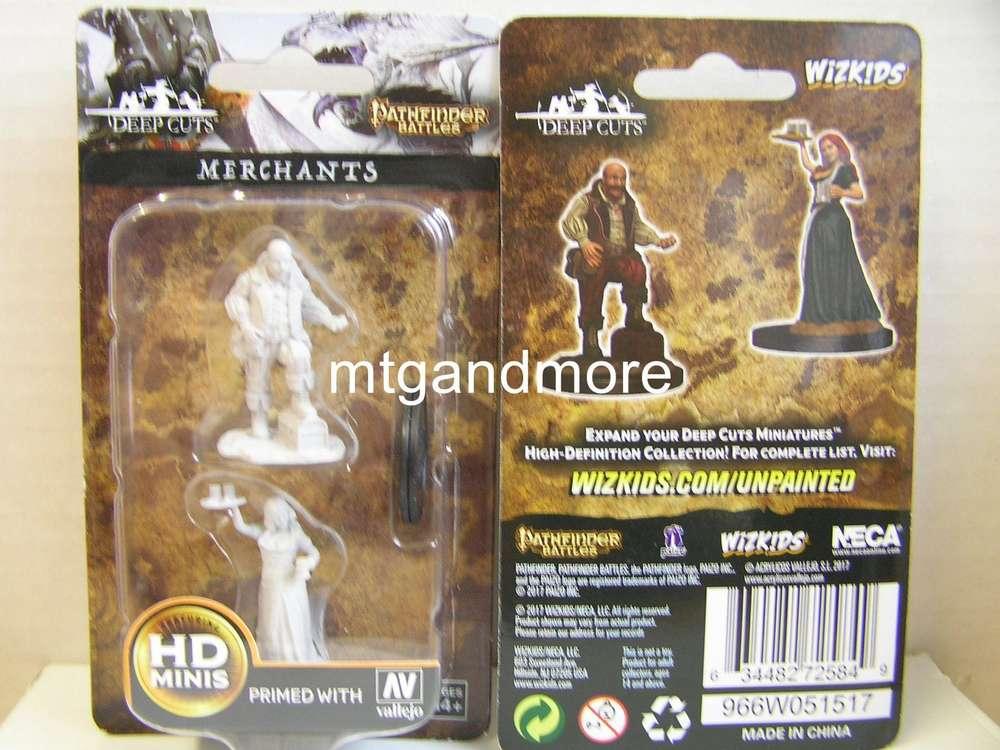 Merchant//Serving Girl Merchants Pathfinder Battles Deep Cuts WizKids WZK72584