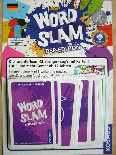 Word Slam DSP-Edition - Goodie Box 2017