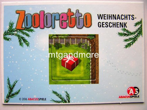 8 - Zooloretto - Adventskalender 2016