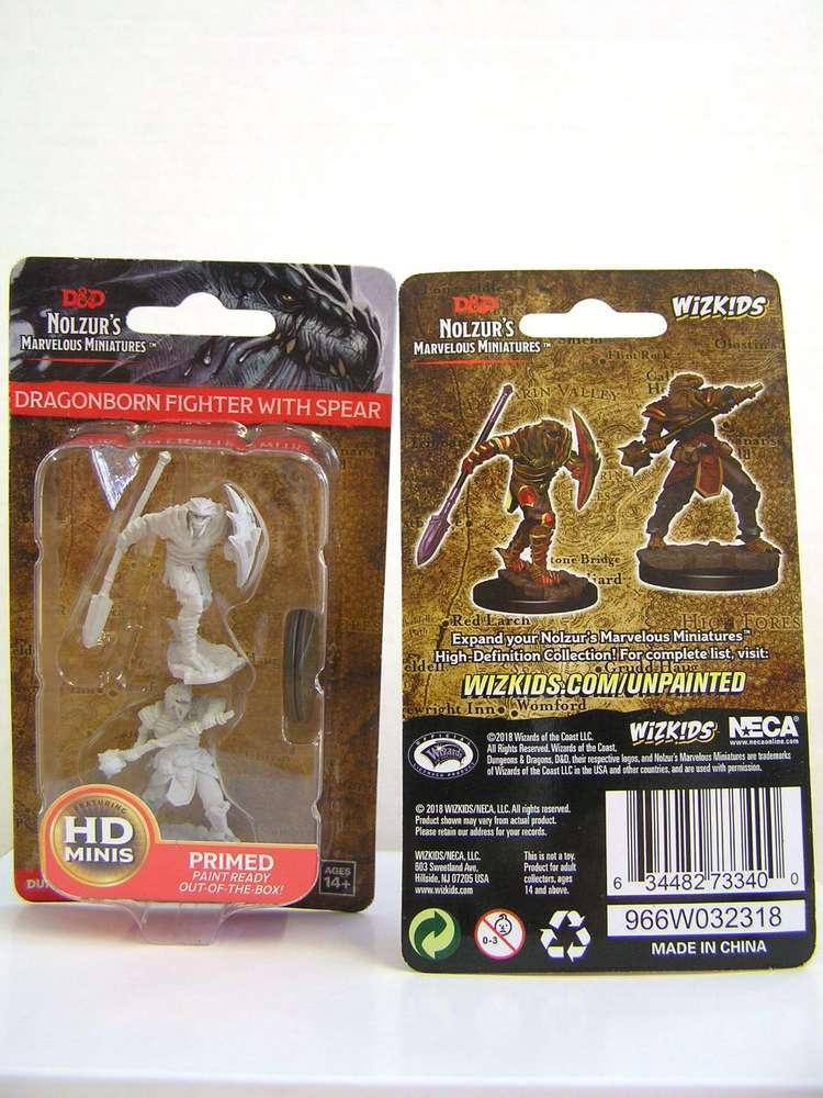 Wzk73340 Dd Nolzurs Marvelous Wave 5 Unpainted Miniatures