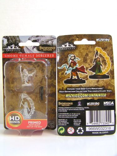 WZK73345 - Pathfinder Deep Cuts Wave 5 - Unpainted Miniatures - Gnome Female Sorcerer