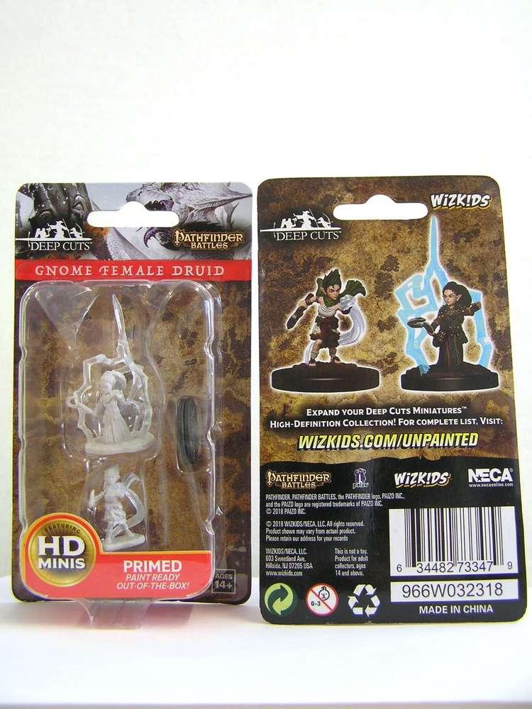 Gnome Female Sorcerer Pathfinder Battles Deep Cuts Wizkids WZK73345