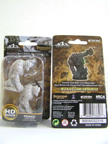 WZK73357 - Pathfinder Deep Cuts Wave 5 - Unpainted Miniatures - Medium Earth Elemental