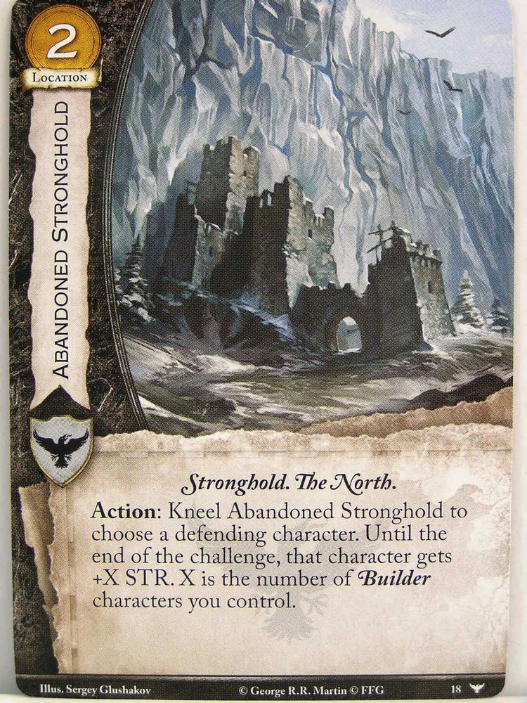 A Game Of Thrones 20 018 Abandoned Stronghold Watchers On The