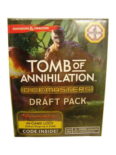 Dice Masters D&D Tomb of Annihilation Draft Pack