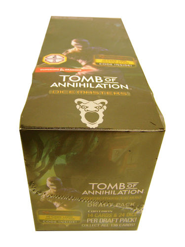 Dice Masters D&D Tomb of Annihilation Display (8 Draft Packs)