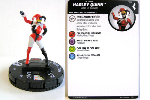 Heroclix - #001 Harley Quinn - Harley Quinn and the Gotham Girls